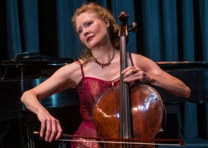 Ann Alton, cellist. photo by Nancie Battaglia
